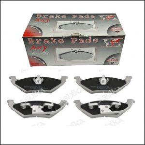 Pastiglie Freno Posteriori Chrysler | Dodge | Marca: Ashika 51-09-994