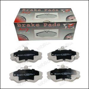 Pastiglie Freno Anteriori Hyundai H100 | Marca: Ashika 50-05-595