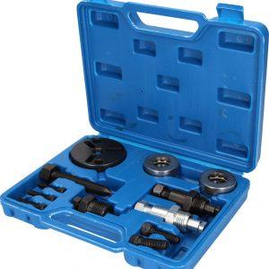 BRILLIANT TOOLS BT611000 – Set di estrattori per pulegge, 11 pezzi, valigetta blu