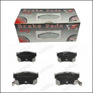 Pastiglie Freno Posteriori Hyundai | Rover | Marca: Ashika 51-05-598