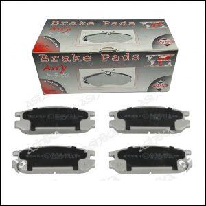 Pastiglie Freno Posteriori Adattabili Subaru Impreza Coupe | Impreza | Legacy I | Legacy II | Legacy III | Legacy Outback | SVX | Marca: Ashika 51-07-701