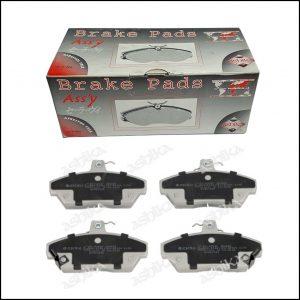 Pastiglie Freno Anteriori Rover 200 | 400 | Cabriolet | Marca: Ashika 50-04-430