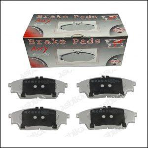 Pastiglie Freno Anteriori Adattabili Subaru Rex II | Rex III | Marca: Ashika 50-07-704