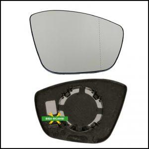 Piastra Specchio Retrovisore Asferico Lato Dx-Passeggero Per Citroen C3 III (SX) dal 2016>