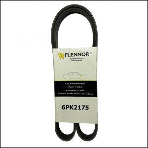 6PK2175 Flennor Cinghia Servizi Poly-V Mercede Classe C | Classe E | Classe G | Classe S | SL | Ford Fiesta