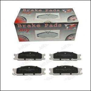 Pastiglie Freno Anteriori Nissan | Ford | Marca: Ashika 50-01-137