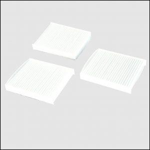 3x Filtri Aria Antipolline Abitacolo [136x123x20]