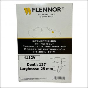 4112V Flennor Cinghia Distribuzione Seat Cordoba   Ibiza   Toledo   Vw Caddy   Golf IV   Passat