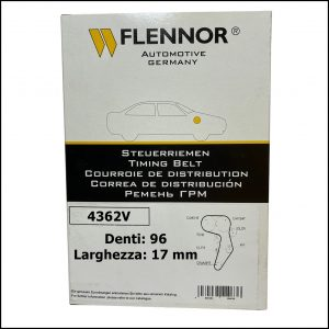 4362V Flennor Cinghia Distribuzione Dacia Logan   Sandero   Solenza   Renault Clio   Kangoo   Megane