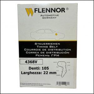 4368V Flennor Cinghia Distribuzione Hyundai Accent   Coupe   Elantra   Getz   Kia Cerato   Rio
