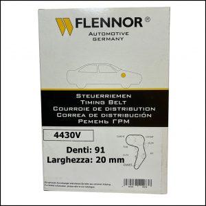 4430V Flennor Cinghia Distribuzione Ford C-Max   Fiesta   Focus   Galaxy   Mondeo   S-Max   Tourneo Connect   Transit