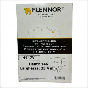 4447V Flennor Cinghia Distribuzione Citroen C5   C8   Fiat Ulysse   Lancia Phedra   Peugeot 406   607
