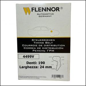4499V Flennor Cinghia Distribuzione Fiat Croma   Grande Punto   Sedici   Opel Astra   Signum   Vectra   Zafira   SAAB 9-3