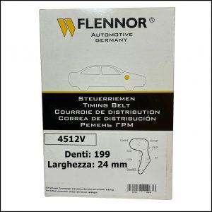 4512V Flennor Cinghia Distribuzione Alfa Romeo 147   156   159   166   Brera   GT   Fiat 500X   Bravo II   Croma   Ducato
