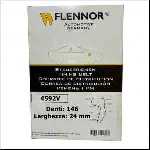 4592V Flennor Cinghia Distribuzione Alfa Romeo 159   Chevrolet Aveo   Cruze   Orlando   Trax   Fiat Croma   Stilo   Opel Astra