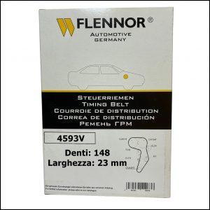 4593V Flennor Cinghia Distribuzione Audi A1   A3   A4   A6   TT   Seat Altea   Exeo   Leon   Toledo   Skoda Octavia   VW Eos   Golf Plus   Polo   Scirocco