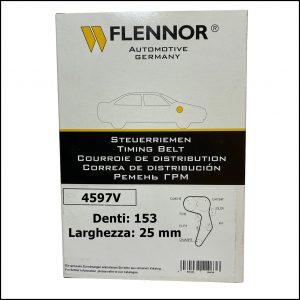 4597V Flennor Cinghia Distribuzione Citroen C4   C5   C8   Jumpy   Peugeot 206   307   308   407   807   Expert