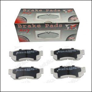 Pastiglie Freno Anteriori Adattabile Per Nissan | Subaru | Marca: Ashika 50-01-101