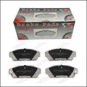 Pastiglie Freno Anteriori Honda Accord III | Integra Coupé | Legend I | Prelude III | Marca: Ashika 50-04-422