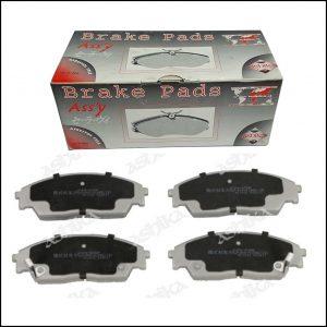 Pastiglie Freno Anteriori Honda Accord IV | Civic II | Civic IV | Civic VI | CRX II | Prelude III | Marca: Ashika 50-04-423