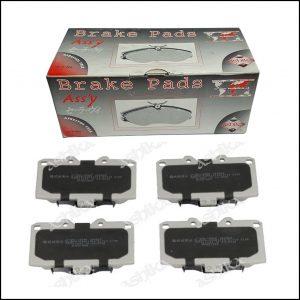Pastiglie Freno Anteriori Adattabile Per Nissan 200SX | Subaru Impreza | Marca: Ashika 50-01-188