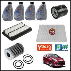 Kit Tagliando Olio   Filtri Per Suzuki Alto VI 1.000 GPL 50kw/68cv dal 2009>