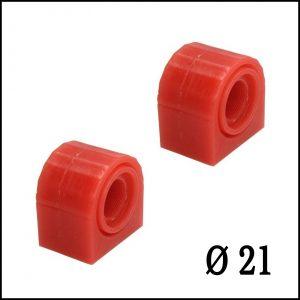 Gommini Boccole Poliuretano Barra Stabilizzatrice Anteriore Diametro Ø 21
