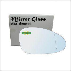 Vetro Specchio Retrovisore Asferico Lato Dx-Passeggero Per Porsche Boxter (987) dal 2004-2011