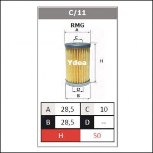 Filtro Gpl Impianto RMG art.C/11