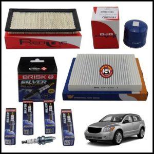 Kit Tagliando Filtri | Candele Per Dodge Caliber 1.800 110kw/150cv dal 2006>
