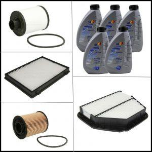Kit Tagliando Olio | Filtri Per Opel Antara 2.000 CDTI 110kw/150cv dal 2006>