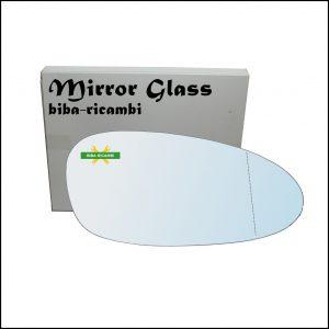Vetro Specchio Retrovisore Asferico Lato Dx-Passeggero Per Porsche Cayman I (987) solo dal 2005-2008