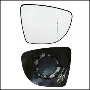Piastra Specchio Retrovisore Asferico Termico Lato Dx-Passeggero Per Nissan Micra V (K14) dal 2016>