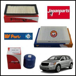 Kit Tagliando Filtri Per Dodge Caliber 1.800 110kw/150cv dal 2006>