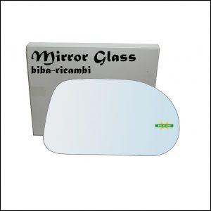 Vetro Specchio Retrovisore Cromato Lato Dx-Passeggero Per Fiat Marea (185) solo dal 1996-2002