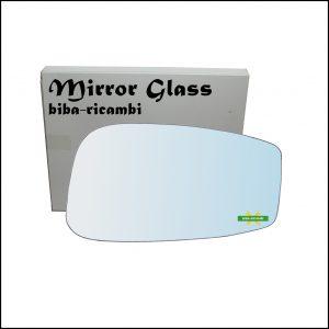 Vetro Specchio Retrovisore Cromato Lato Dx-Passeggero Per Fiat Stilo (192) dal 2001-2009