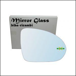 Vetro Specchio Retrovisore Cromato Lato Dx-Passeggero Per Smart ForFour I (454) dal 2004-2006