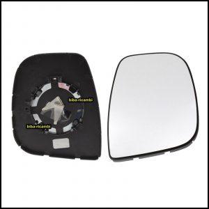 Piastra Specchio Retrovisore Lato Dx-Passeggero Per Citroen BERLINGO II (B9) dal 2013-2018