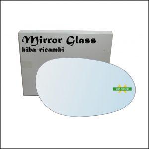 Vetro Specchio Retrovisore Cromato Lato Dx-Passeggero Per Smart ForTwo I (450) dal 2004-2007