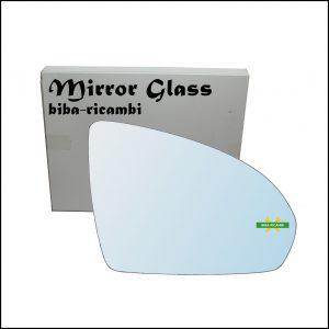 Vetro Specchio Retrovisore Cromato Lato Dx-Passeggero Per Smart ForTwo II (451) dal 2007>