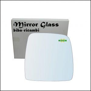 Vetro Specchio Cromato Lato Dx-Passeggero Per Suzuki Jimny I (SN) dal 1998-2006