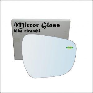 Vetro Specchio Retrovisore Lato Dx-Passeggero Per Suzuki Celerio (LF) dal 2014>
