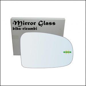 Vetro Specchio Retrovisore Lato Dx-Passeggero Per Subaru Trezia dal 2010>