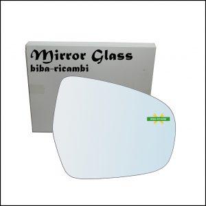 Vetro Specchio Retrovisore Lato Dx-Passeggero Per Suzuki SX4 S-Cross (JY) dal 2013>
