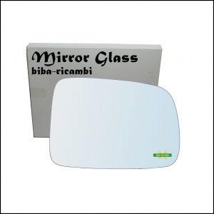 Vetro Specchio Retrovisore Cromato Lato Dx-Passeggero Per Honda CR-V I (RD) dal 1995-2002