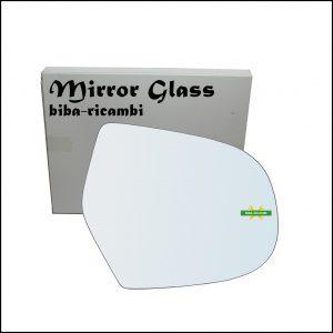 Vetro Specchio Retrovisore Lato Dx-Passeggero Per Great Wall Hover dal 2005-2011