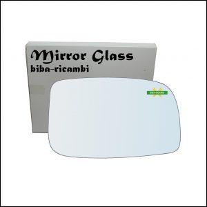 Vetro Specchio Retrovisore Lato Dx-Passeggero Per Subaru Justy IV dal 2007-2010
