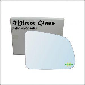 Vetro Specchio Retrovisore Cromato Lato Dx-Passeggero Per Suzuki Vitara I (TA) solo dal 1988-1993