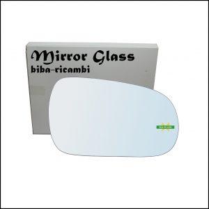 Vetro Specchio Retrovisore Cromato Lato Dx-Passeggero Per Honda Accord V dal 1990-1997