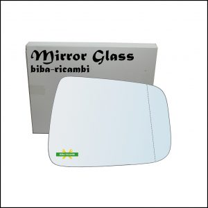 Vetro Specchio Retrovisore Asferico Lato Dx-Passeggero Per Honda Jazz II (GD) solo dal 2006-2008
